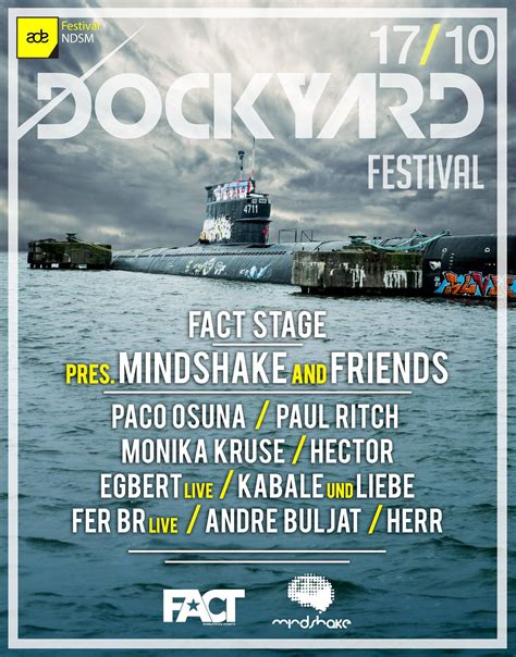Paco Osuna   Dockyard Festival, FACT Stage, NDSM Docklands ...