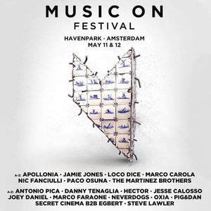 Paco Osuna   Live @ Music On Festival  Amsterdam    11 May ...