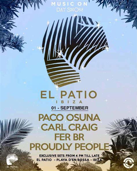 Paco Osuna y Carl Craig en Music On Day Show en El Patio ...