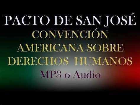 Pacto de San José. Convención Americana Sobre Derechos ...