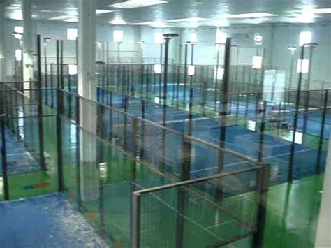 Padel Indoor Granollers   YouTube