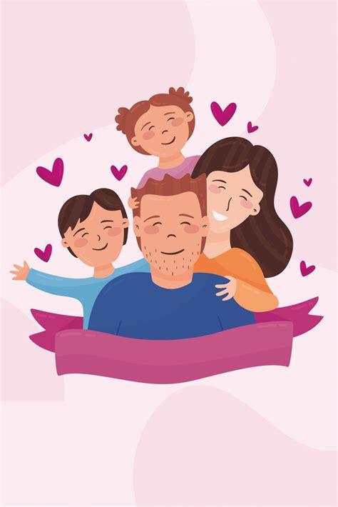 Padre Amor Familia Hijos Día Del Padre en 2020   Imágenes ...