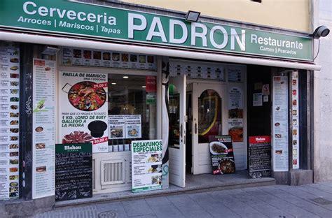 PADRON » Calle San Bernardo, 56. Madrid.