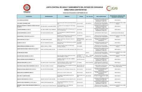 Padron de Contratistas   Gobierno del Estado de Chihuahua