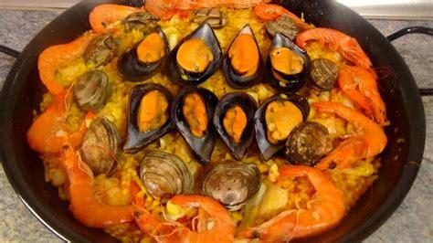 PAELLA DE MARISCO FACIL   Recetas de Cocina Faciles ...