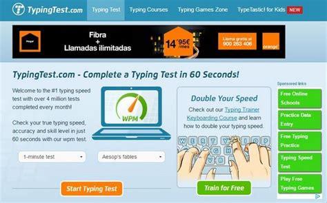 Página gratuita para medir tu velocidad de escritura al ...