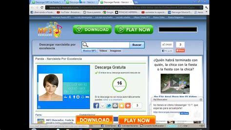 pagina para descargar musica mp3 gratis y rapido   YouTube