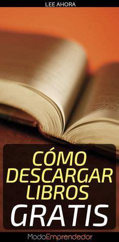 Paginas Para Descargar Libros Gratis Pdf Sin Registrarse ...