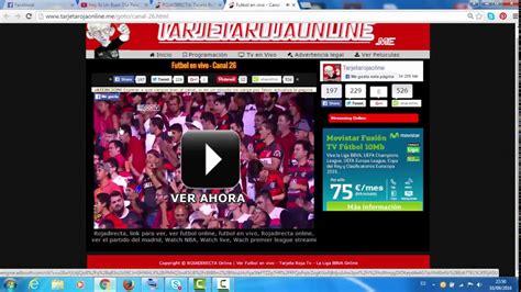 Paginas Para Ver Futbol Online En Vivo Gratis   peliculatiba