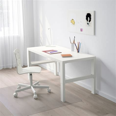 PÅHL Escritorio, blanco, 128x58 cm   IKEA