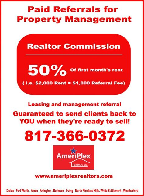 Paid Referrals for Property Management Call: 817 366 0372 ...