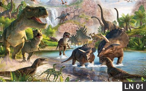 Painel de Aniversário Dinossauros 2,00x1,00m Festa Banner ...