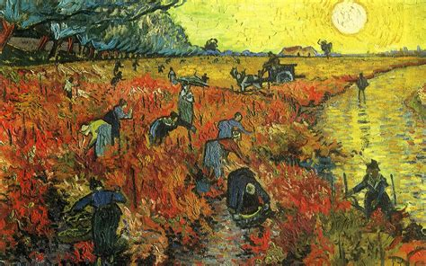 Painting of Vincent Van Gogh   Summer work wallpapers and ...
