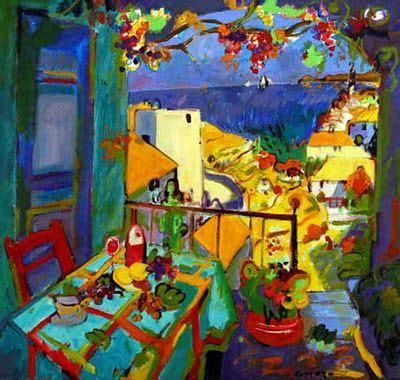 Paintings by Spanish Artist Manel Anoro. So vibrantly ...