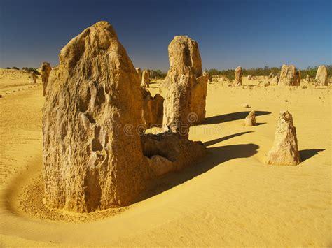Paisaje Del Desierto De La Península Del Sinaí Imagen de ...