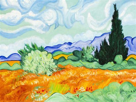 Paisaje impresionista Van Gogh Jezabel Villarreal Garcelán ...
