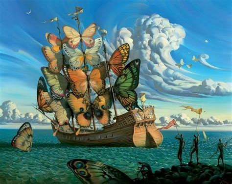 Paisajes Surrealistas Pinturas Fondos de pantalla Paisajes ...