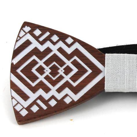 Pajarita Madera Pintada C1 | Cravatta World