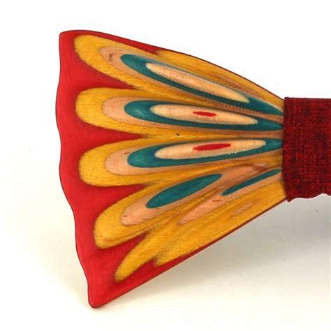 Pajarita Madera Pintada C5 | Cravatta World