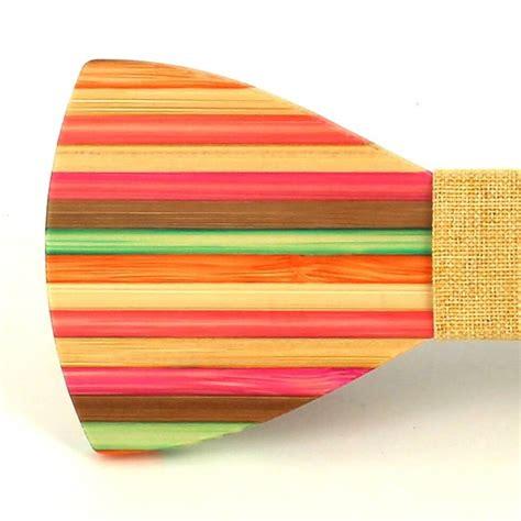 Pajarita Madera Pintada C8 | Cravatta World