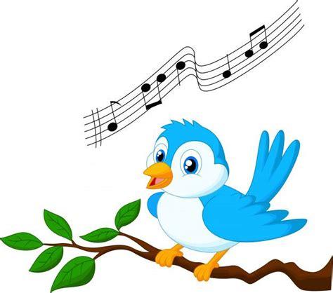 Pájaro Azul Cantando En La Rama De Un árbol em 2020 ...