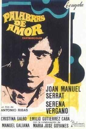Palabras de amor  1968    FilmAffinity