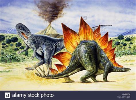Palaeozoology   Upper Jurassic period   Dinosaurs ...