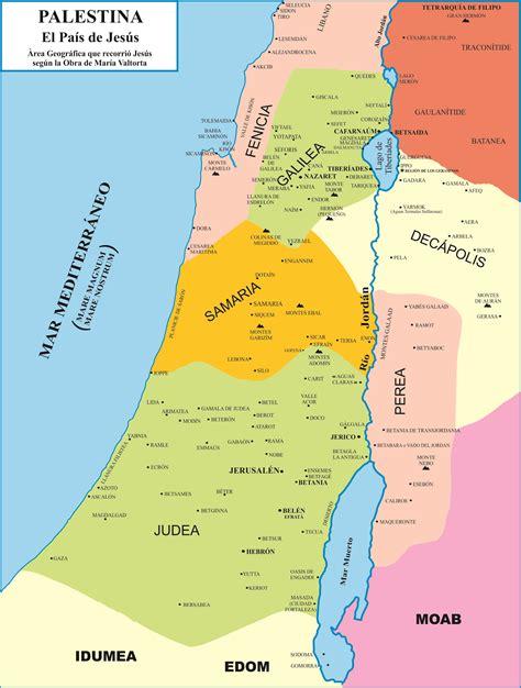Palestina. Siglo I | Difusión obra María Valtorta