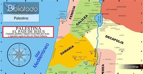 Palestina: tierra de forasteros   Mapa y Ubicación Geográfica