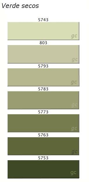 Paleta de color verde, Salones verdes, Casas color verde