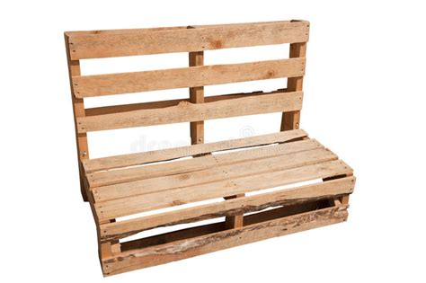 Pallet Chair stock image. Image of outdoor, recycled ...