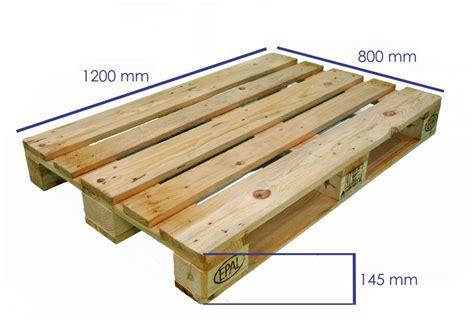 Pallets of various measures in Eucalyptus grandis hardwood ...