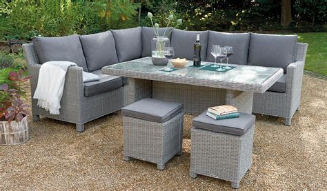 Palma Glass Top Table   Casual Dining Garden Furniture