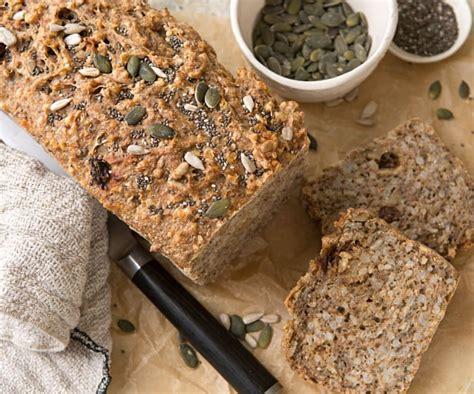 Pan de arroz integral con harina de espelta y semillas ...