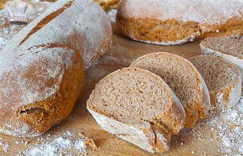Pan integral casero con harina de espelta en 2020 | Pan ...