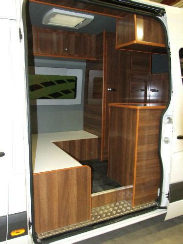 PANEL VAN RACE VAN CONVERSION MOTOCROSS MOTORHOME SELF ...