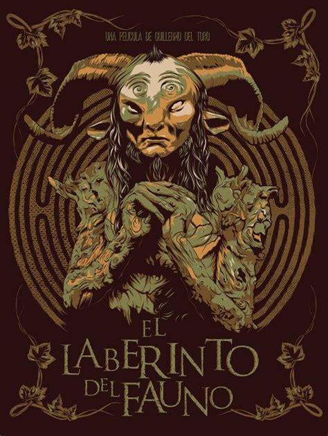 Pans Labyrinth   Spanish Graphic Movie Promotional Art ...