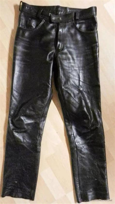 pantalon cuero moto   Comprar ropa y complementos de ...