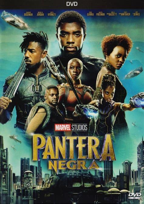 Pantera Negra Black Panther Marvel Pelicula Dvd   $ 259.00 ...