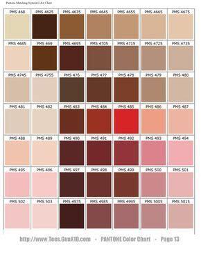 PANTONE Color Chart   PMS   Screen Printing in 2019   Pms ...