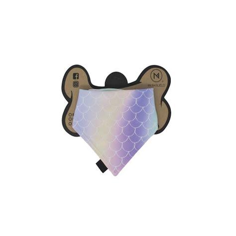 Pañuelo para Mascota Mi Pañuelo Doble Vista Sirena Talla S ...