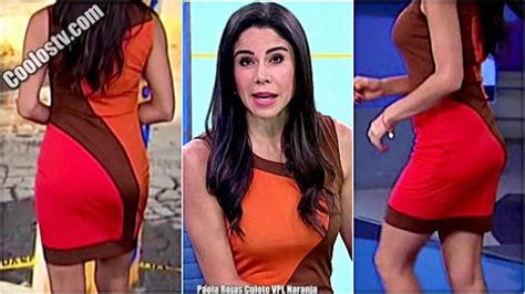 Paola Rojas Culote con Tanga Marcada Minivestido VPL ...