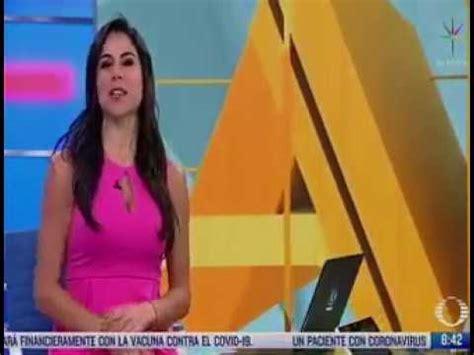Paola Rojas menciona en su noticiero el apoyo a personal ...