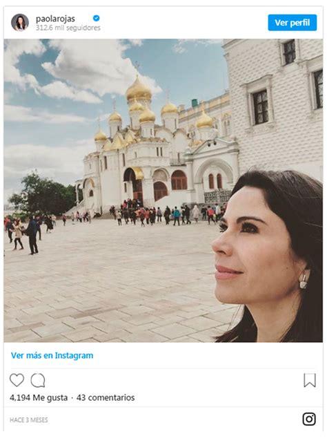 Paola Rojas y la frase que ha puesto en duda su estatus ...