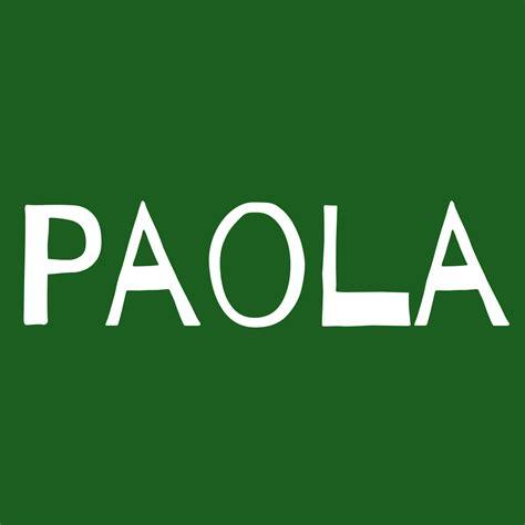 Paola : Significado del nombre de hombre Paola