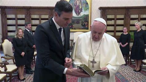 Papa Francisco recebe o primeiro ministro espanhol, Pedro ...