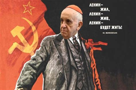 Papa Fransisco, para algunos es comunista   Taringa!