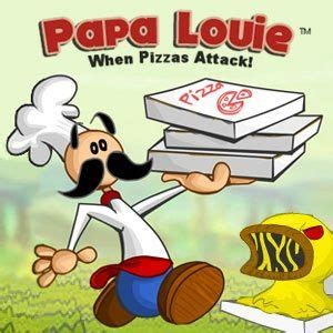 Papa Louie: When Pizzas Attack!   Cool Math Games in 2019 ...