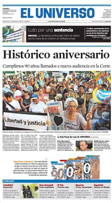 Paper Papers: Felices 100 años a El Universo de Guayaquil