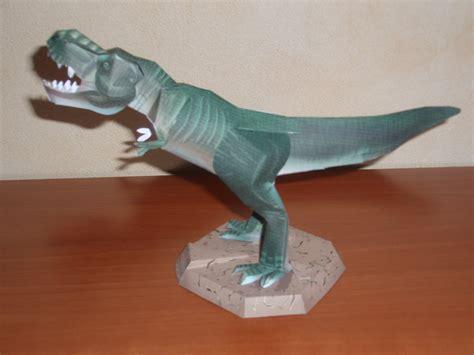 Papercraft   Dinosaurio   Tirannosaurus Rex ...